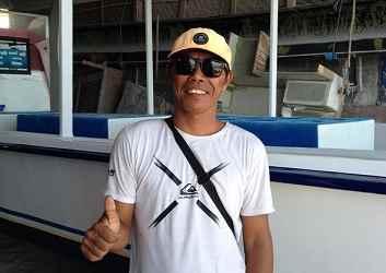 boat captain at legend diving
