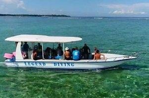Legend Diving Lembongan Boat