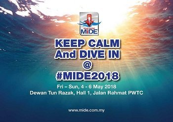 Malaysia International Dive expo with Legend Diving Lembongan, Bali