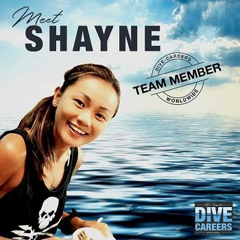 Shayne NG Course Director from Dive Careers at Legend Diving Lembongan Bali