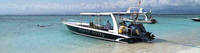 Legend Diving Lembongan boat