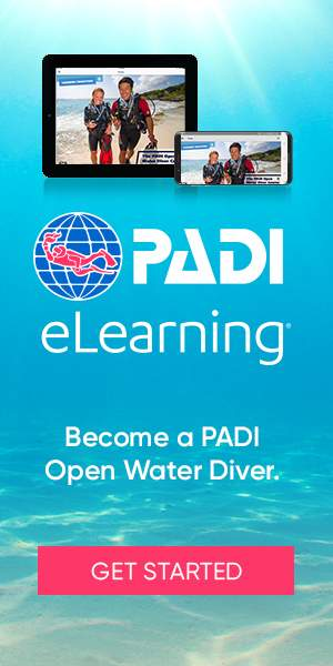 PADI eLearning at Legend diving Lembongan