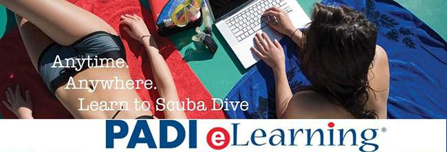 elearning with legend diving